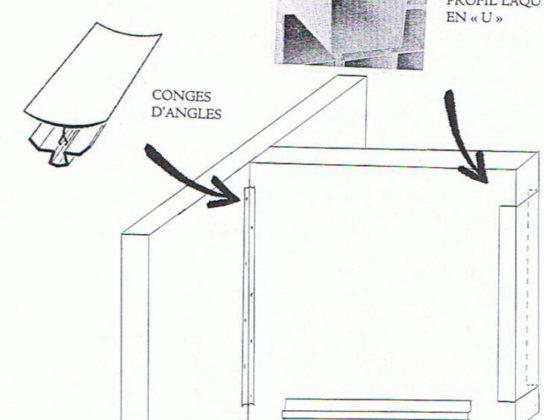 amlux schema montage Cornières et Conges