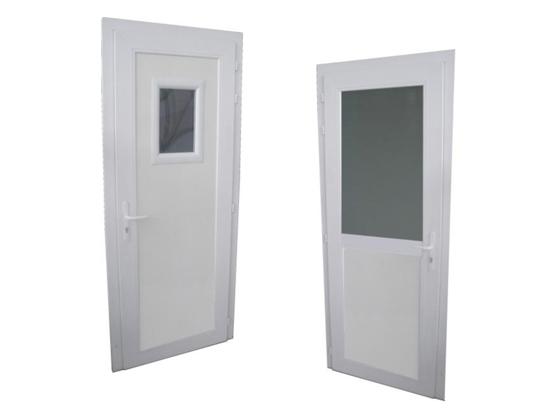 Porte pivotante semi isotherme
